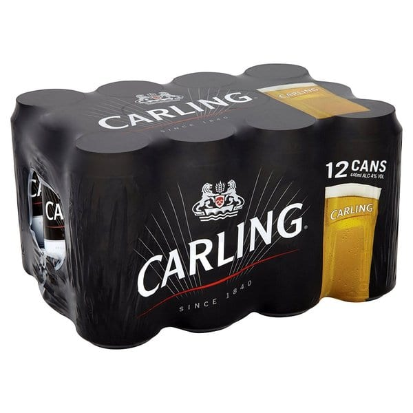 carling 12 pack