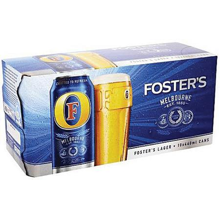 fosters 12 pack